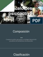 Alcaloides psicoactivos