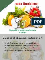 Etiquetado Nutricional 1