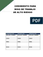 Dosmanual de Organización y Funciones Del Comité de Seguridad y Salud en El Trabajo