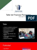 Taller de Finanzas Personales
