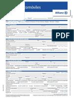 Formulario Allianz Siniestro