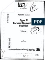 POMCUS System - Type II Forward Storage Site Facilities - Volume 1