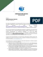 Comunicado Wbo 008-2012