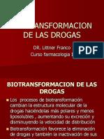 3 Biotransformacion de Las Drogas