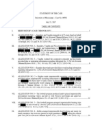 NCAA Ole Miss Case Summary Redacted