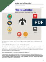 Revisión Por La Dirección y Como Hacerla. Requisito de La Norma ISO 9001