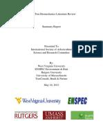 Urban Tree Biomechanics Literature Review