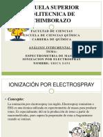 Ionizacion Por Electrospray