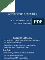 1 ANESTESICOS GENERALES