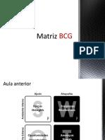 Aula Matriz BCG