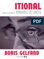 Positional Decision Making in Chess - Boris Gelfand - Quality Chess - 2015