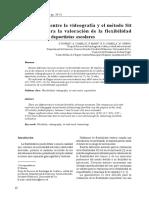 08 - Comparación entre la videografía y el método Sit and Reach para la valoración de la flexibilidad isquiotibial en deportistas escolares.pdf