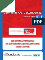 Cahier n°13 Académie - Bonne pratique CI PME.pdf
