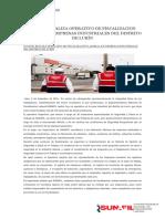 Operativo de Fiscalización Laboral en Lurin