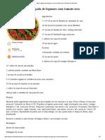 Torta Salgada de Legumes Com Tomate Seco _ Daniela de Almeida