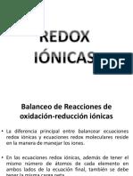 Redox iónicas