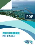 Port of Mackay Port Handbook 11.01.16