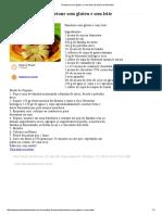 Panetone Sem Gluten e Sem Leite _ Daniela de Almeida