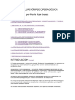 La Evaluación Psicopedagógica-doc