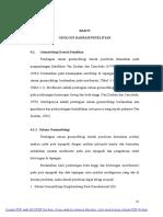 Bab IV. Geologi Daerah Penelitian