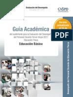 Guía académica educación física 2017