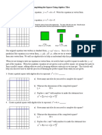complete the square worksheet