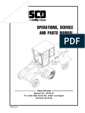Rosco RB 48 View | Transmission (Mechanics) | Engines on