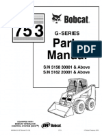 PDF Bobcat 753g Parts Manual
