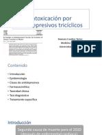 Intoxicación Por Antidepresivos Tricíclicos