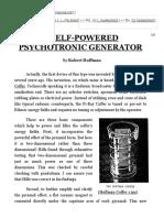 Self-Powered Psychotronic Generator