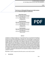 0. Factors Influencing the Success of Hospital Management Information Systems in a Mental Hospital in Indonesia