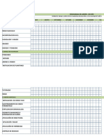 Modelo de Cronograma de Labores Satsuma Okitsu