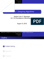 Designing Algorithms