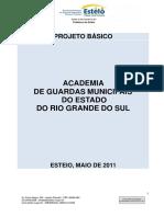 Projeto Basico - Curso de Formacao de Guardas Municipais No RS