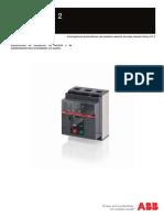 ABB-SACE-EMAX 2 E1.2Instrucciones de Instalación, De Servicio y de Mantenimiento