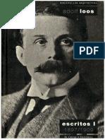 Adolf Loos_Escritos 1897-1909_ El principio del revestimiento_Ornamento y delito TEXTO.rtf