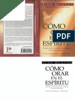 COMO ORAR EN EL ESPIRITU - Juan Bunyan.pdf