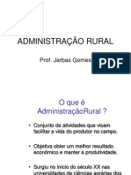 Administracao Rural