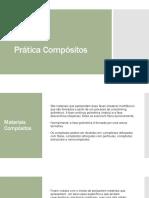 Prática materiais compósitos