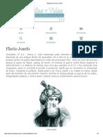 Biografia de Flavio Josefo
