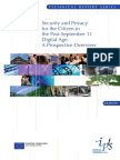 Security and Privacy for the Citizen in the Post-September 11_summary