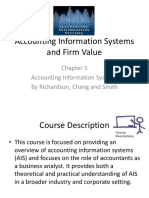 Chapter 1 - AIS and Firm Value