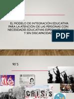 Expo Modelos Educación Especial