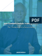 Jack Canfield Holistic Taining Model Guide