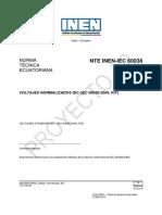 No Re 05 Nte Inen Iec 60038