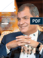 El Legado de Rafael Correa