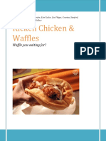 business plan kicken chicken and waffles  1