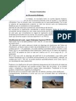 Proceso Constructivo Excavacion Entibada