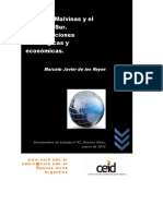 Marcelo Javier de Los Reyes Las Islas Malvinas y El Atlántico Sur. Configuraciones Estratégicas y Económicas