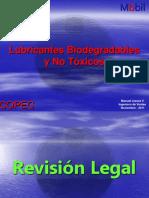 Lubricantes Biodegradables - Grado Alimenticio